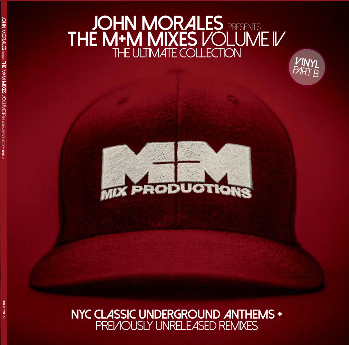 The M+M Mixes Vol. 4 Vinyl LP – Part B