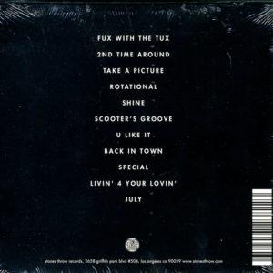 Tuxedo 2 CD Back