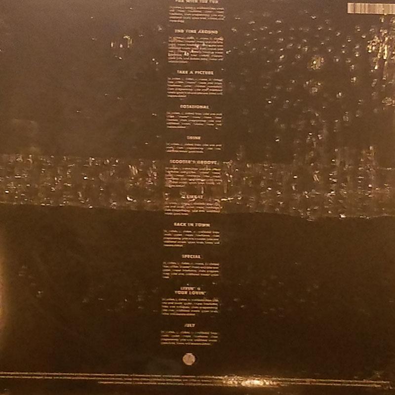 Tuxedo 2 Vinyl Lp Bak