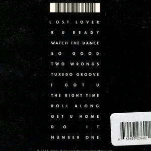 Tuxedo CD Back