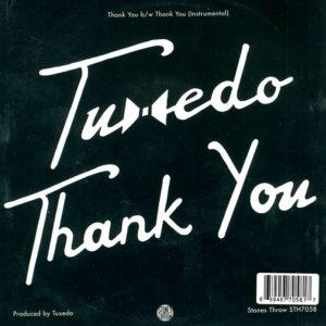 Tuxedo RSD 7inch Vinyl 45 Back